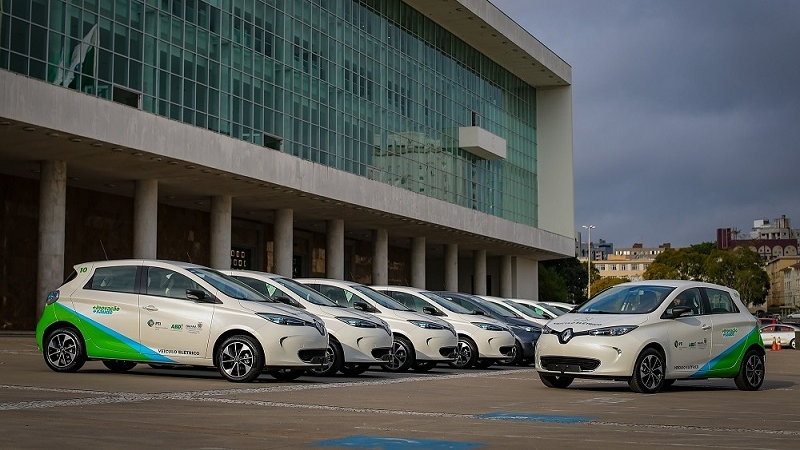 Government of Paraná starts sustainable mobility project with 10 Renault Zoe