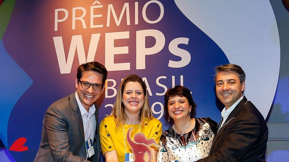 RENAULT IS RECOGNIZED WITH GOLD TROPHY AT 2019 CYCLE OF UN'S WEPS BRAZIL AWARDS