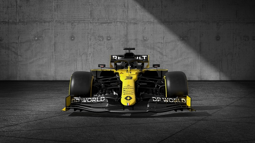 Renault F1 2020 - DP World