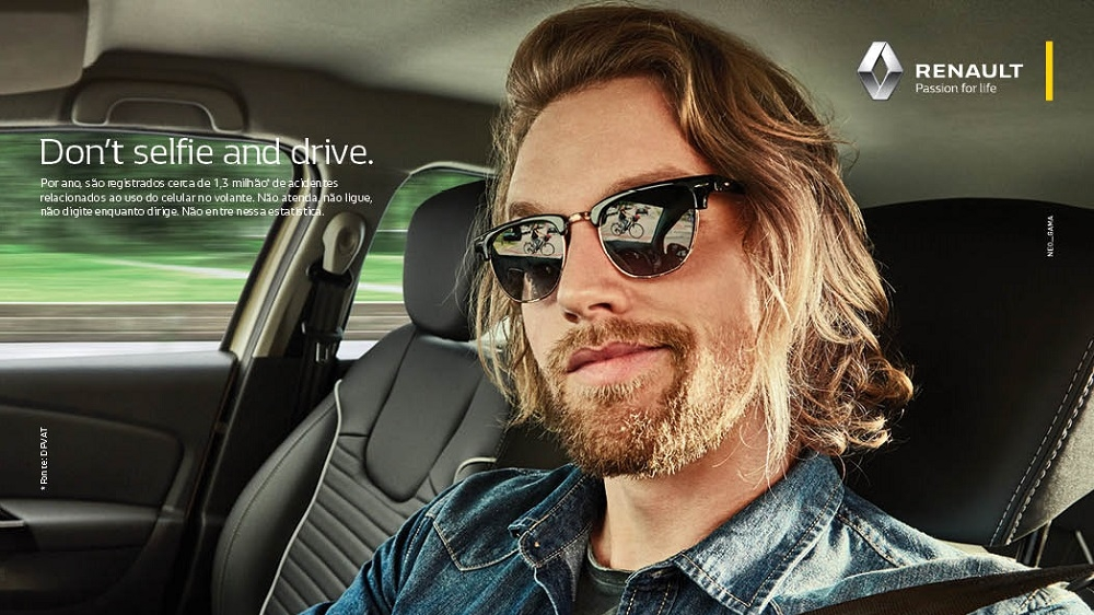 Renault Institute launches #Don'tSelfieandDrive campaign