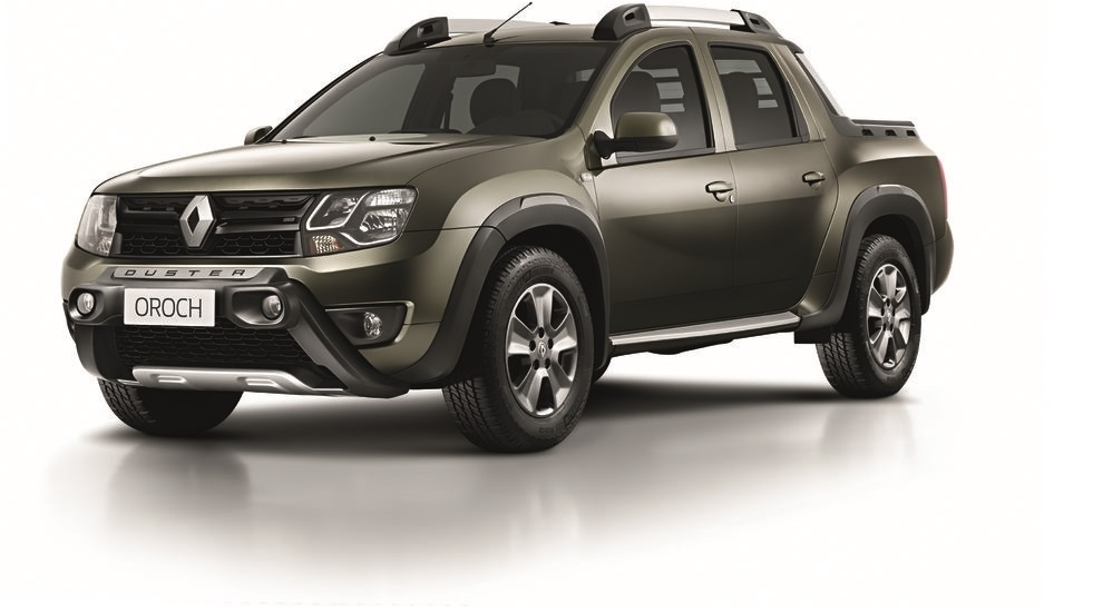 Renault Press Historic Vehicles Duster Oroch