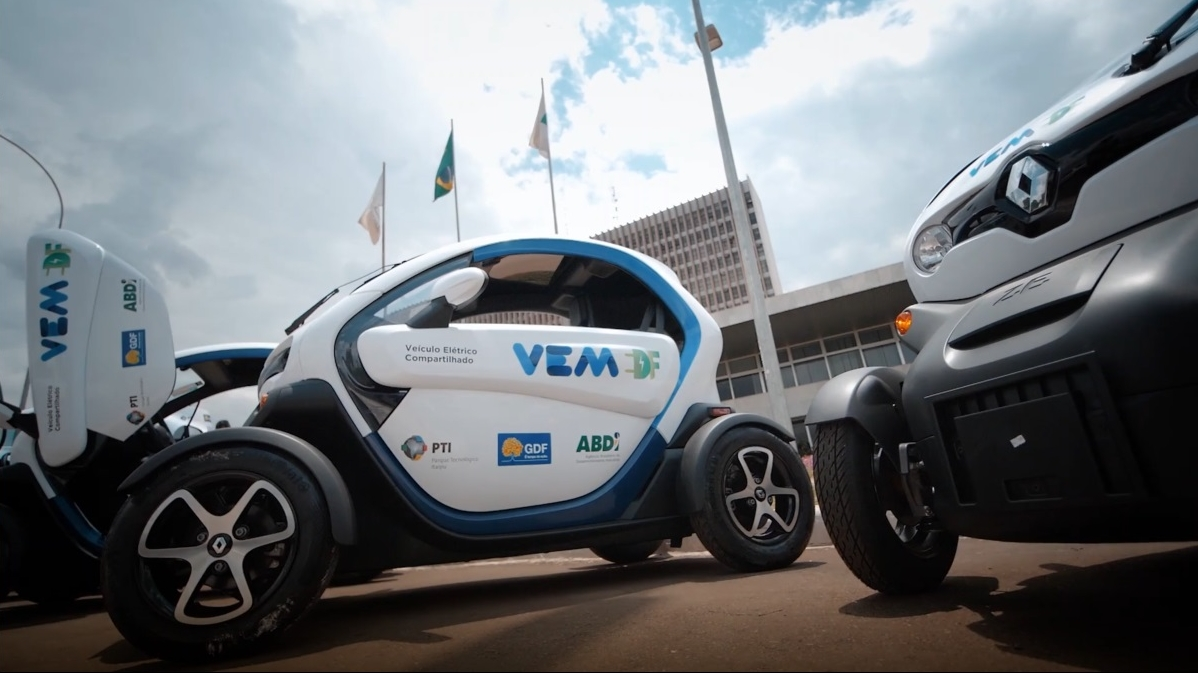 WITH 16 RENAULT TWIZY, BRASÍLIA LAUNCHES CARSHARING SERVICE